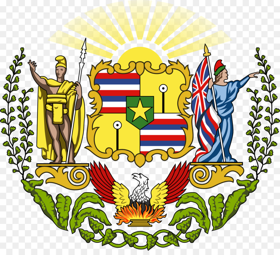 hawaii coat of arms clipart Kingdom of Hawaii Seal of Hawaii
