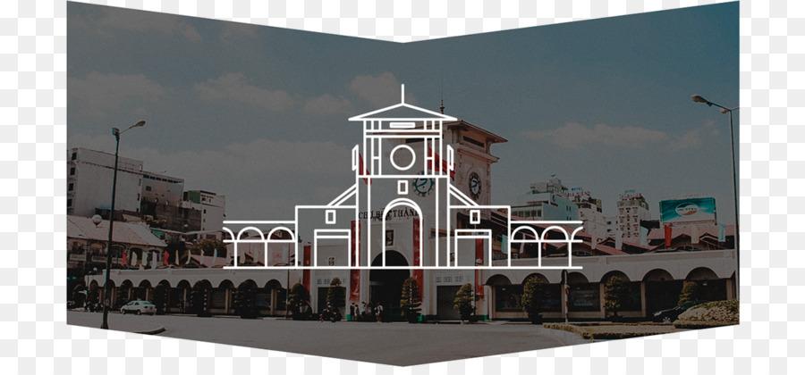 nhà thờ đức bà logo clipart Bến Thành Market Saigon Notre-Dame Basilica Independence Palace