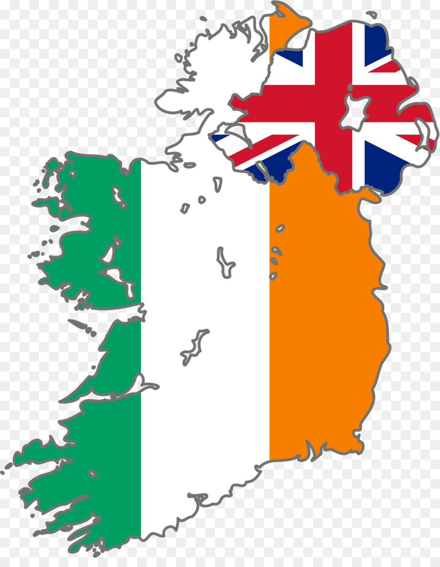 ireland flag map clipart Republic of Ireland Northern Ireland Flag of Ireland