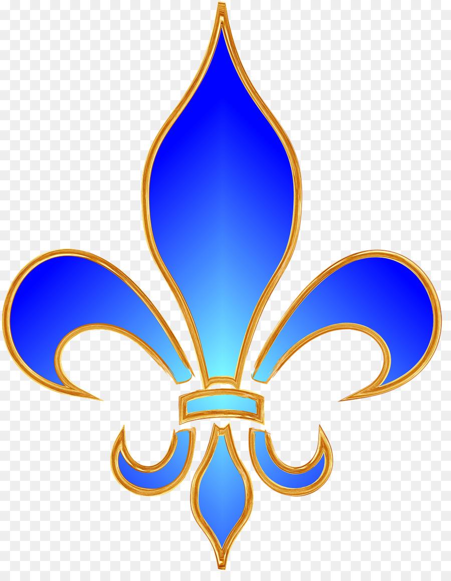 Fleur De Lis Blue Clipart Fleur De Lis Clip Art Clipart Lily Wing Font Transparent Clip Art
