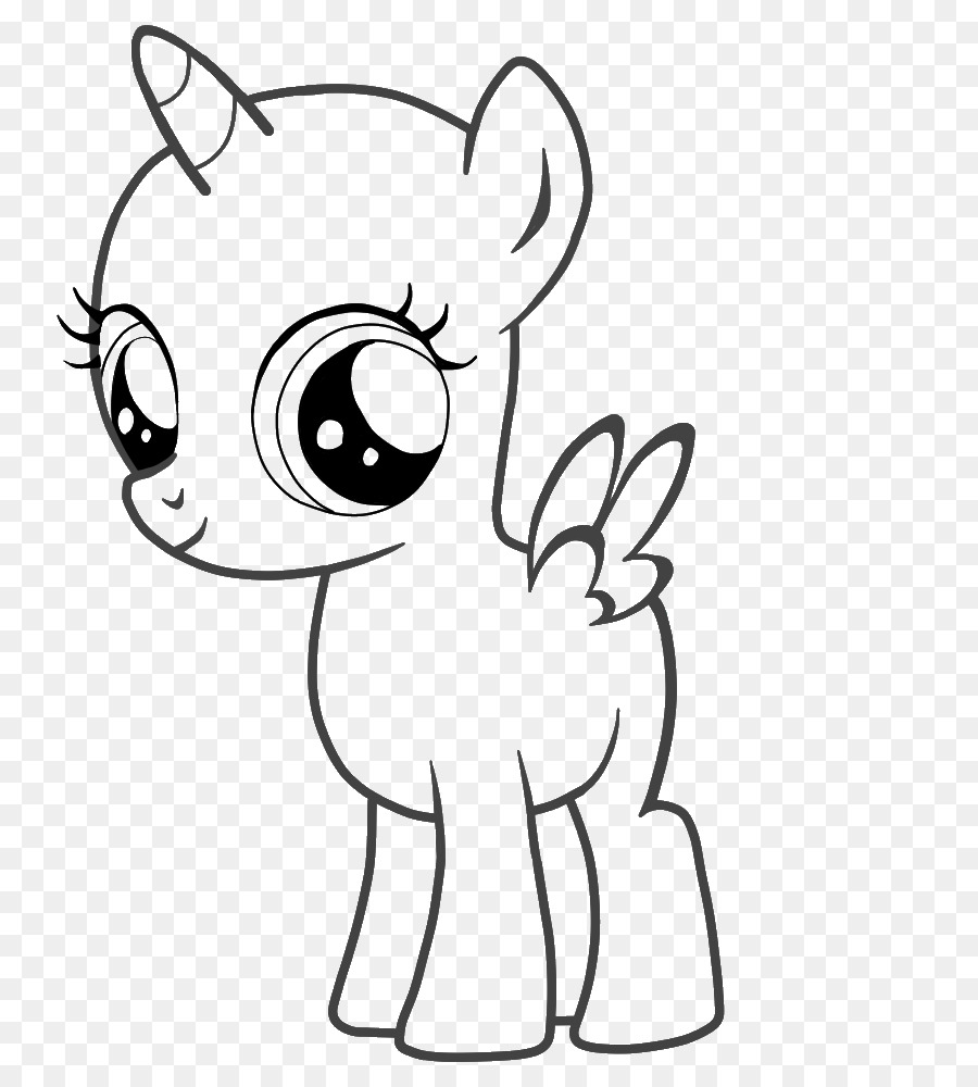 Download Mlp Base Alicorn Clipart Pony Winged Unicorn Foal