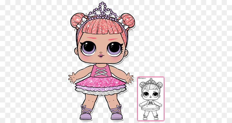 ballerina lol doll clipart L.O.L Surprise! Glitter Series Doll Birthday