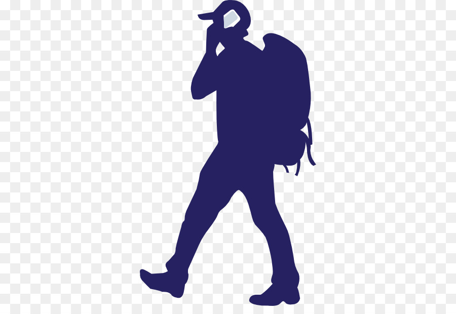 backpacker silhouette clipart Backpacking Hiking Clip art
