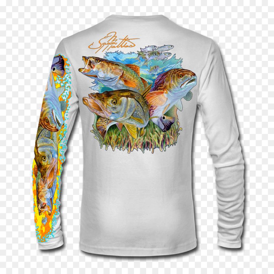 inshore slam shirt clipart Long-sleeved T-shirt