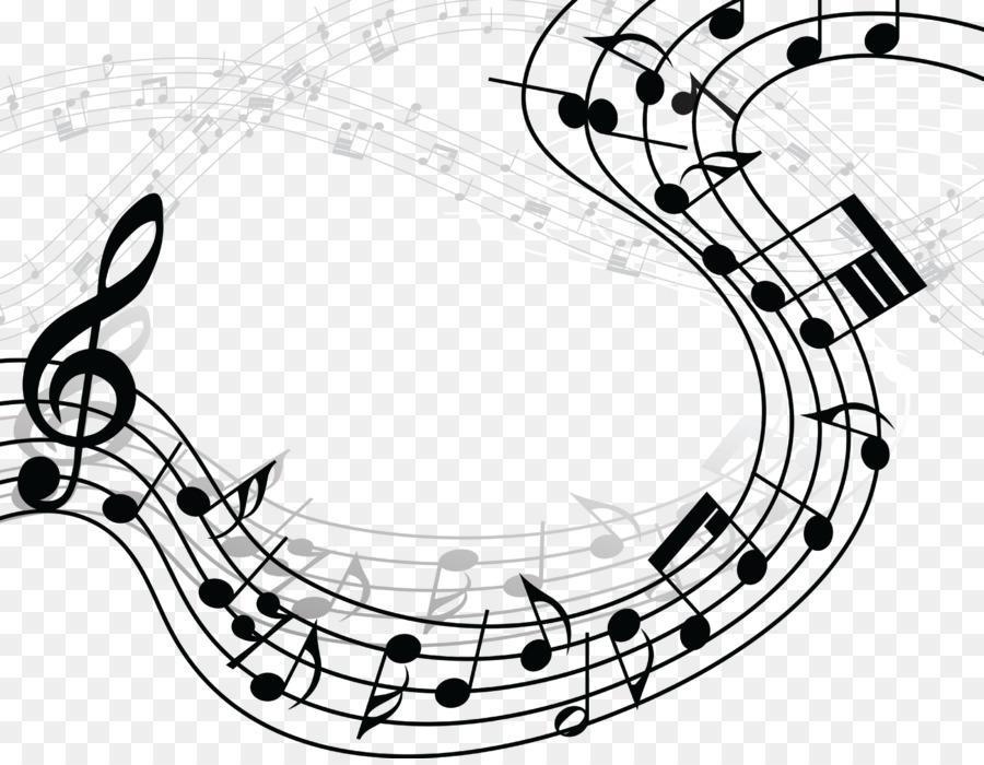 Music Illustration Line Transparent Image Clipart Free Download