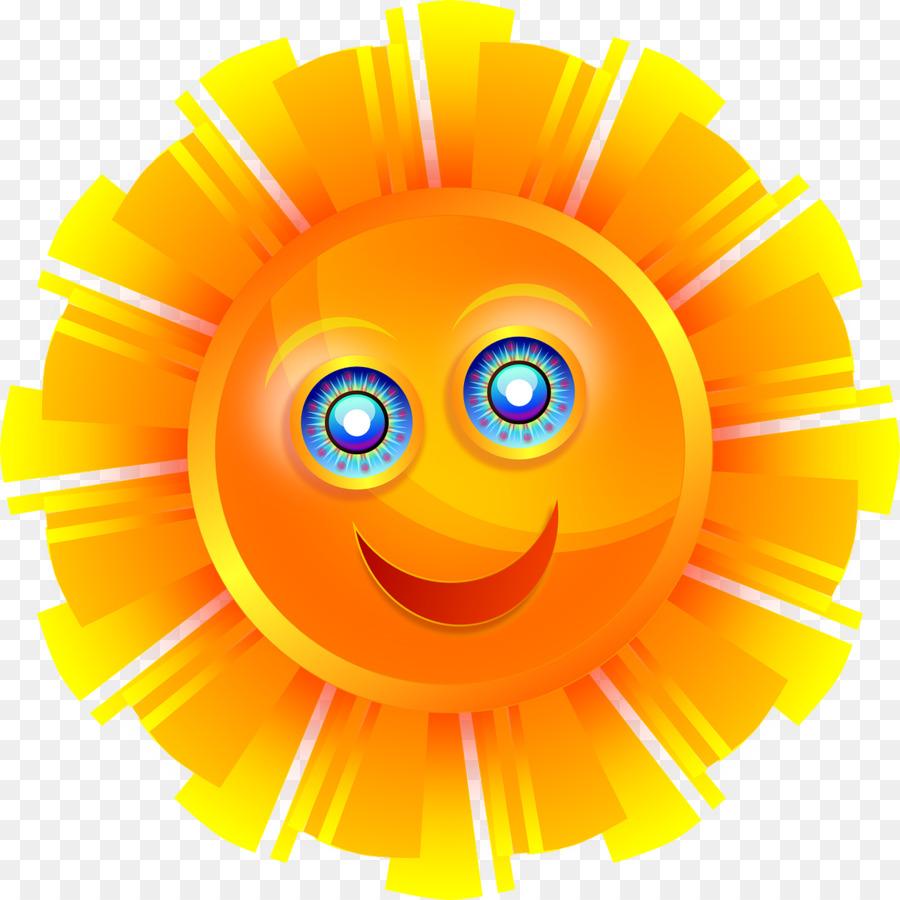 Christmas Smiley Clipart Yellow Orange Smile