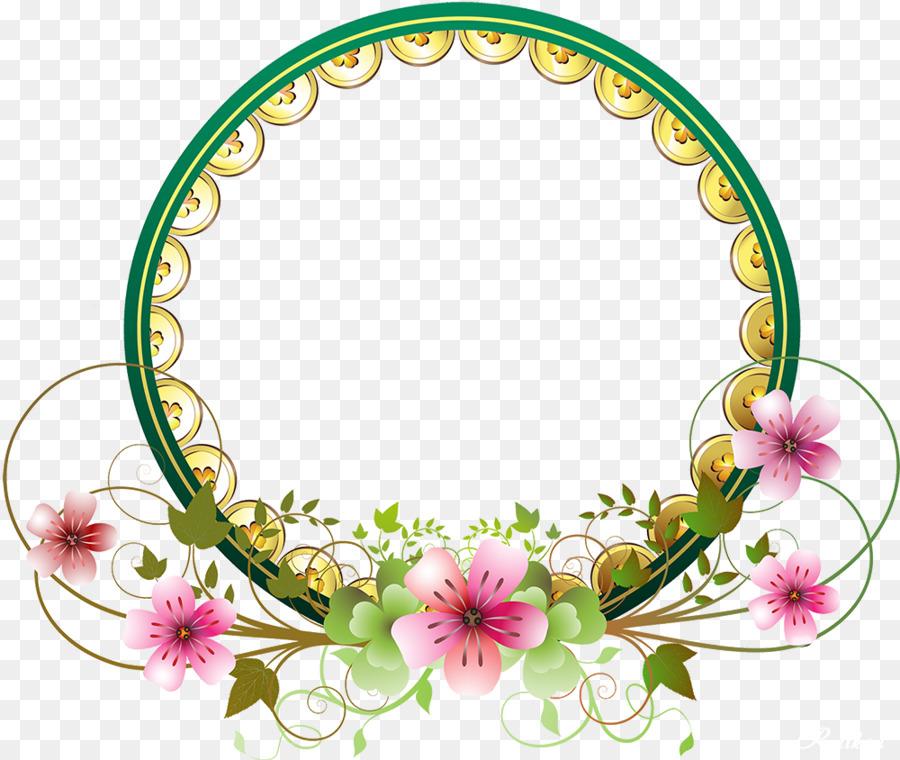 Floral Wedding Invitation Background Clipart Wedding Art