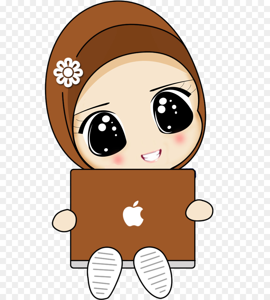 cute cartoon girl hijab clipart Hijab Drawing Cartoon