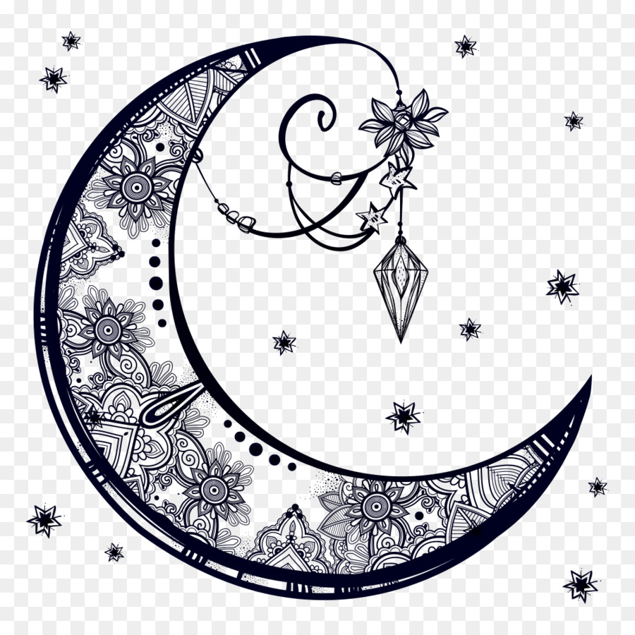 Drawing moon pencil transparent png image clipart free download