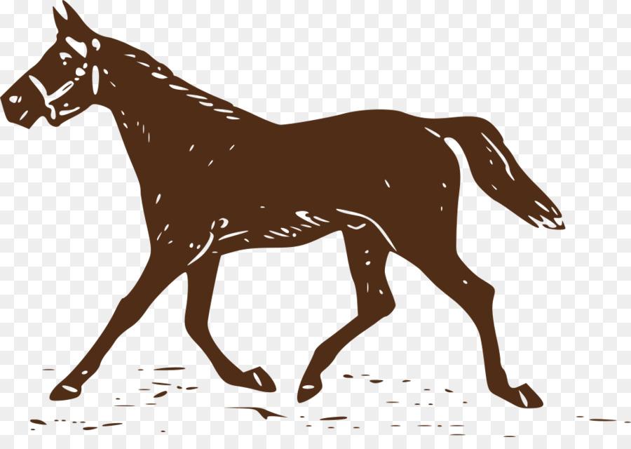horse monogram clipart Morgan horse Thoroughbred Foal