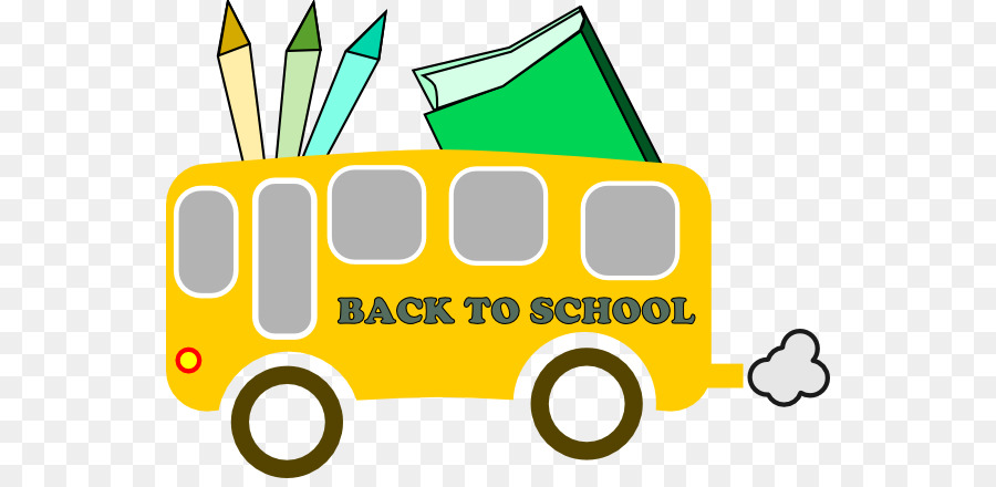 Back To School Yellow Background