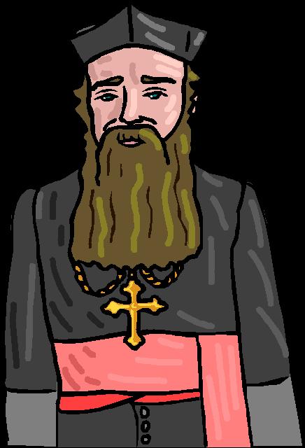 работать гифка с монахом фоне