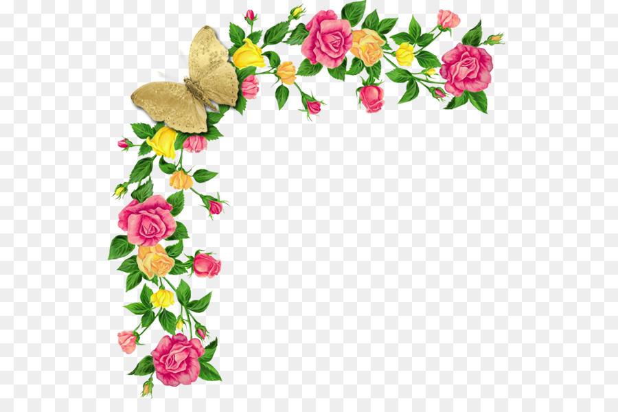 flower frames for photoshop clipart Floral design Cut flowers