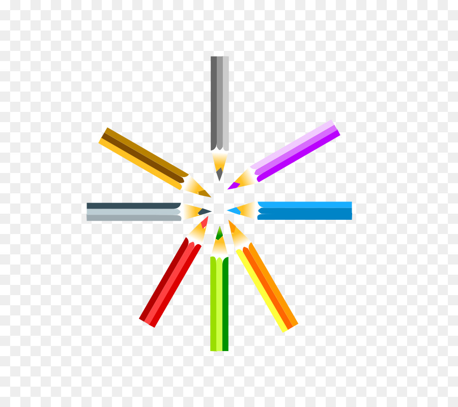 Colored pencil clipart How to Draw Colored pencil