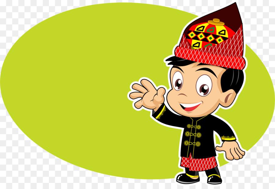 Pakaian Adat Aceh Kartun Kings World