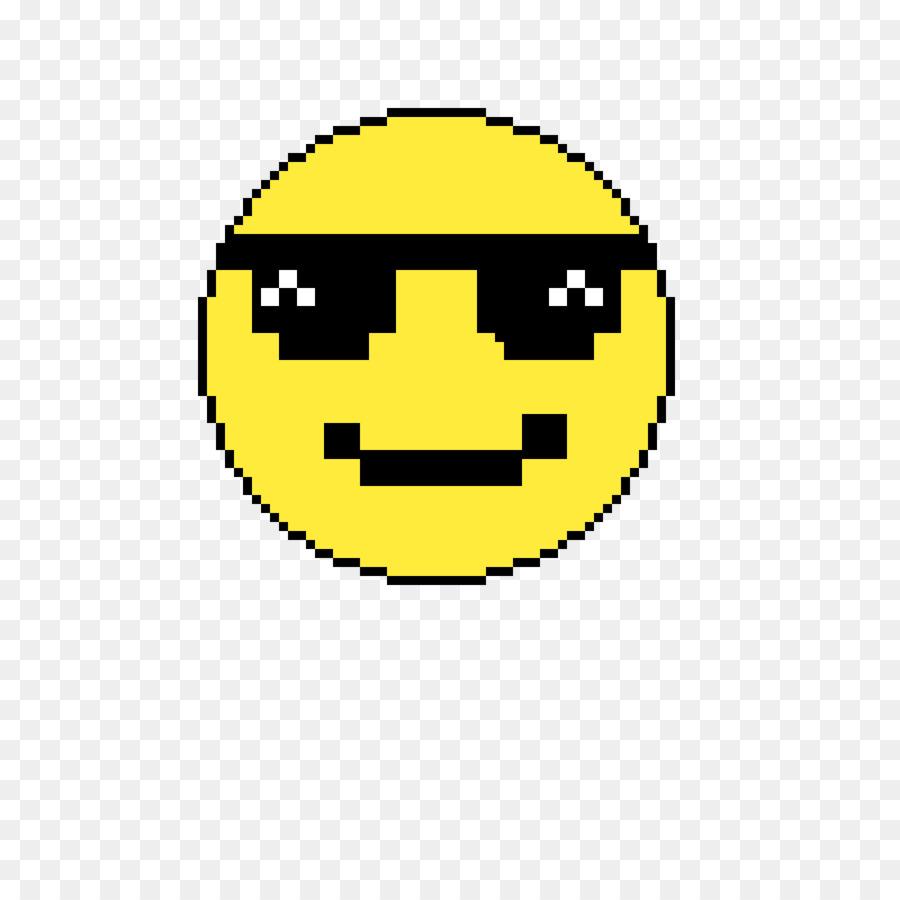 Pixel Art Smiley Clipart Tshirt Illustration Yellow