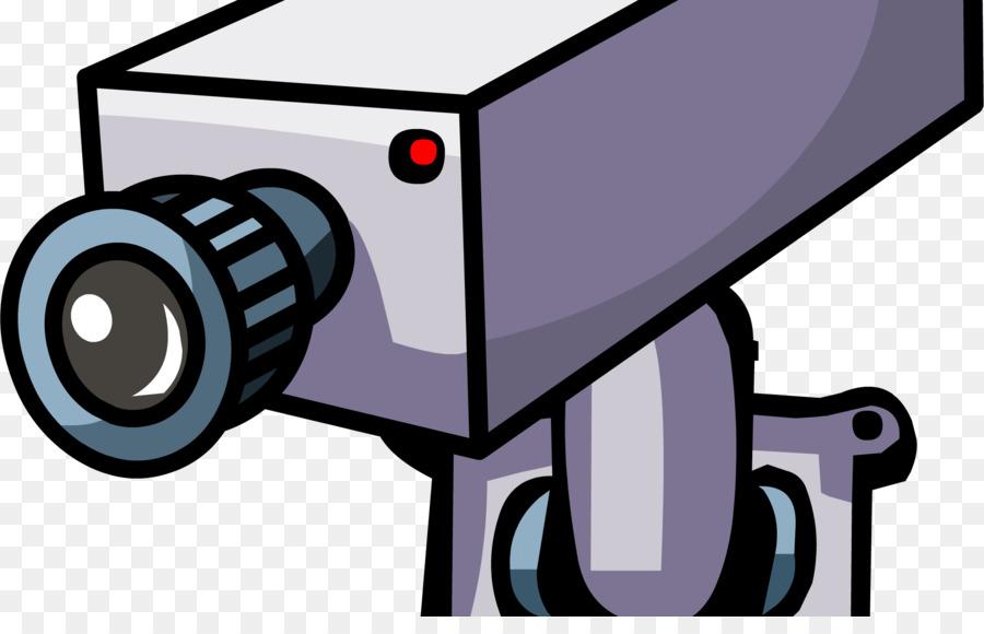 Cartoon Camera Clipart Television Security Camera Transparent Clip Art
