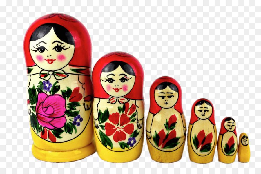 Matrioshka. russian nesting doll. flat kawaii style. matrioshka icon in  cartoon style isolated on background. flat design