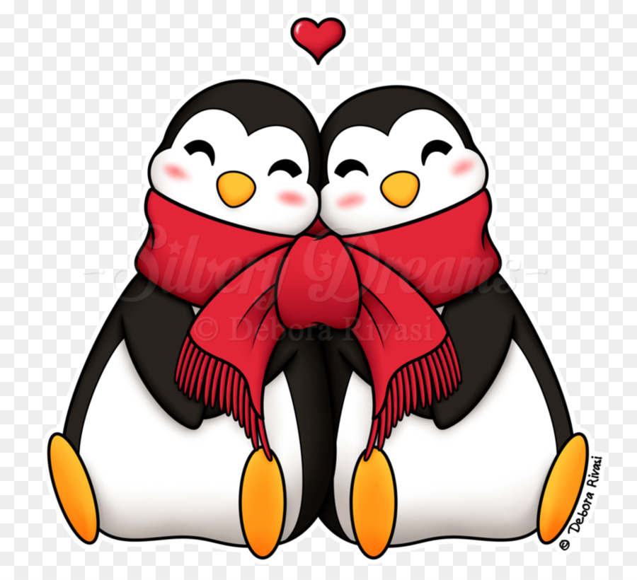 Love Penguin Bird Transparent Png Image Clipart Free Download