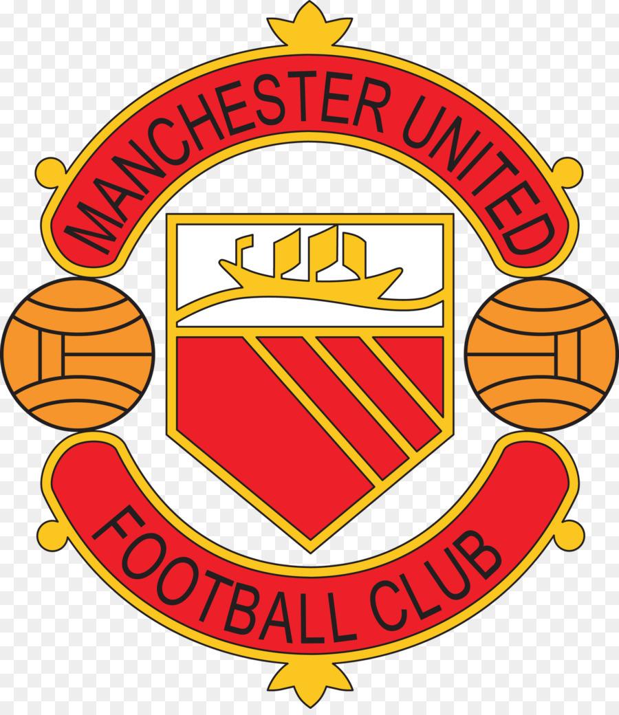 Manchester United Logo Clipart Football Yellow Text Transparent Clip Art