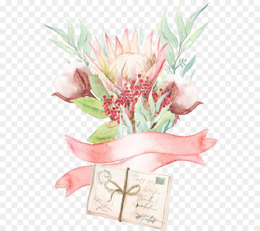 Flower Art Watercolor
