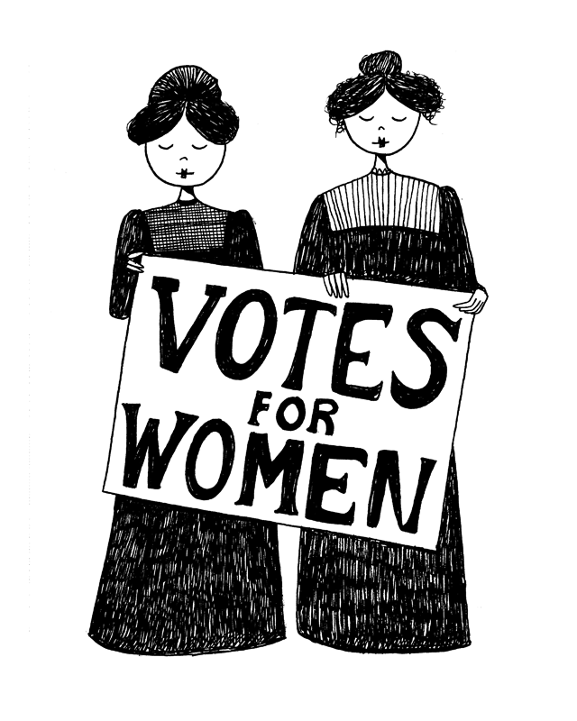 Image result for suffrageclip art