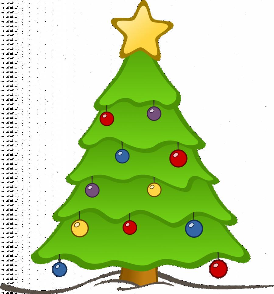 Christmas Lights Drawing Clipart Drawing Tree Christmas