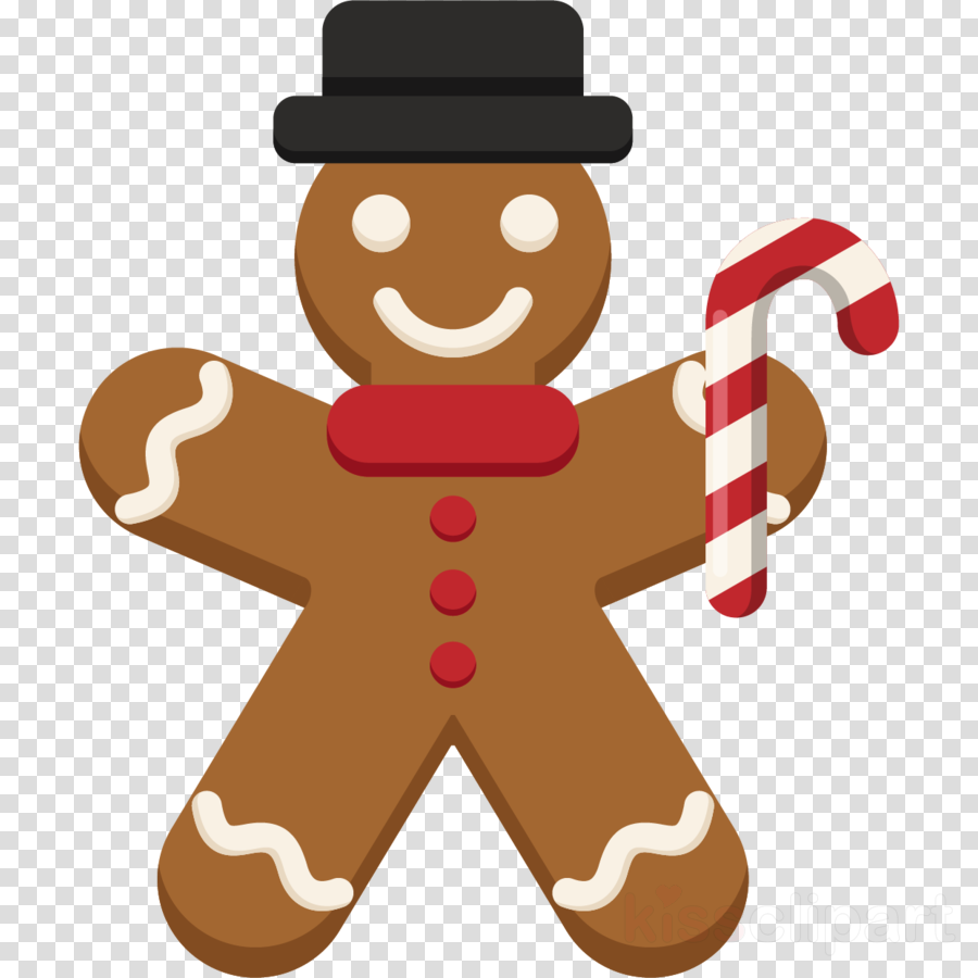 Gingerbread man clipart Gingerbread man Biscuit