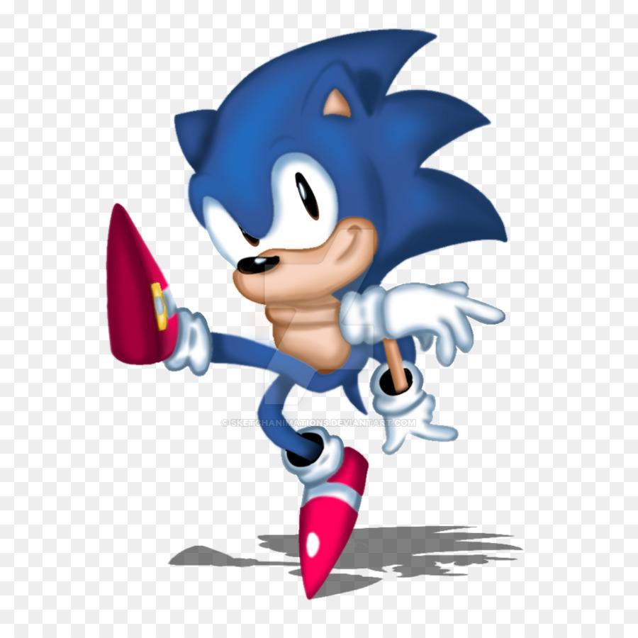 Sonic The Hedgehog Clipart Cartoon Line Illustration