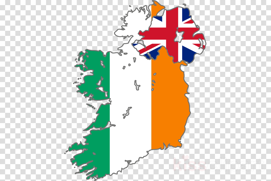 ireland and northern ireland map flag clipart Northern Ireland Republic of Ireland Flag of Ireland