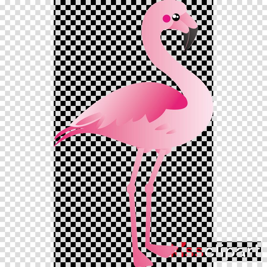 火烈鸟鸟儿剪纸艺术的更大的火烈鸟