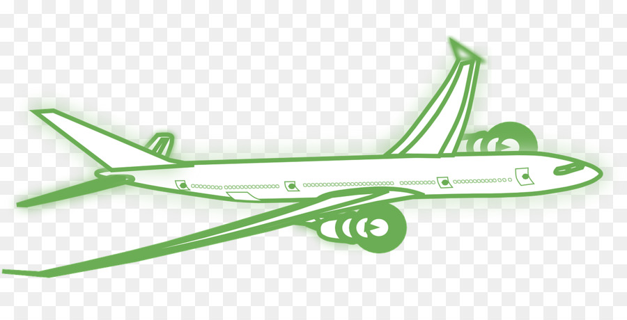 Airplane, Drawing, Green, transparent png image & clipart free download