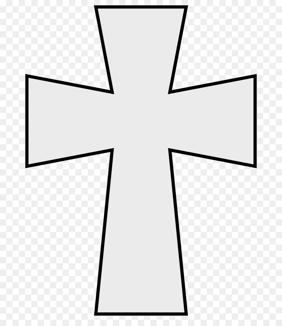 Cross Cartoon