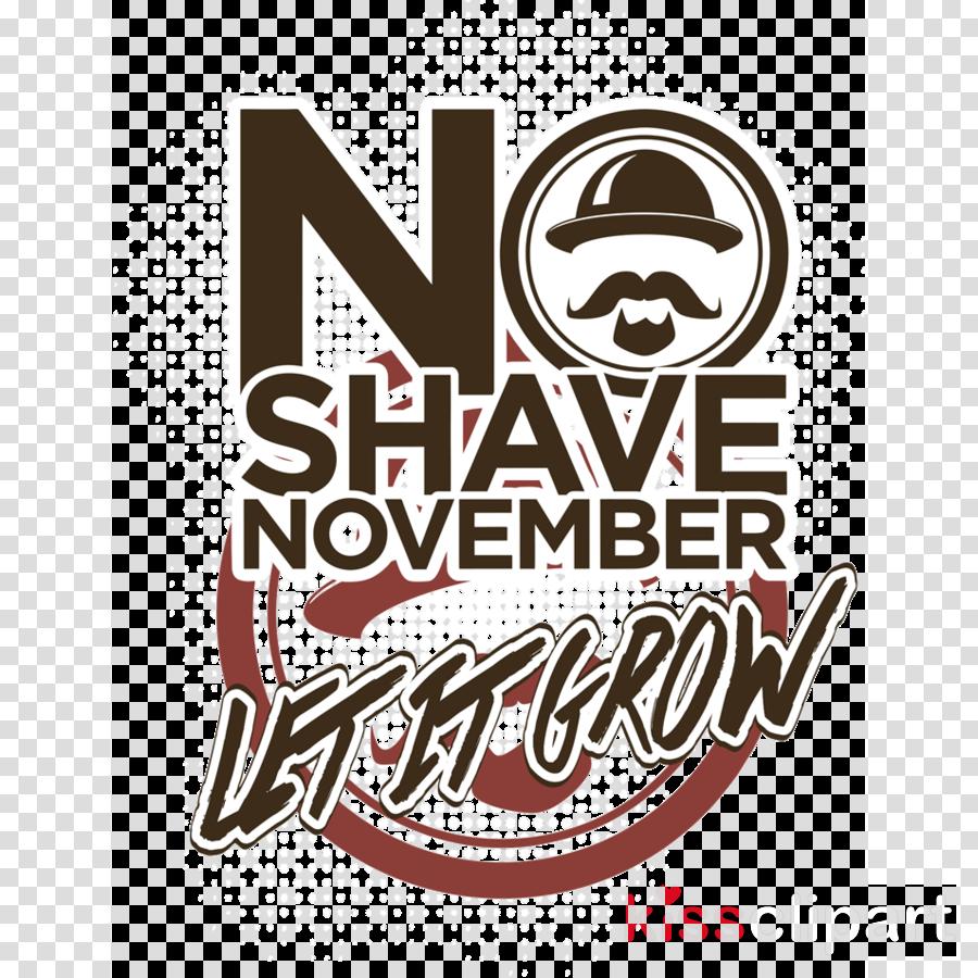 no shave november clipart Shaving Hair Movember