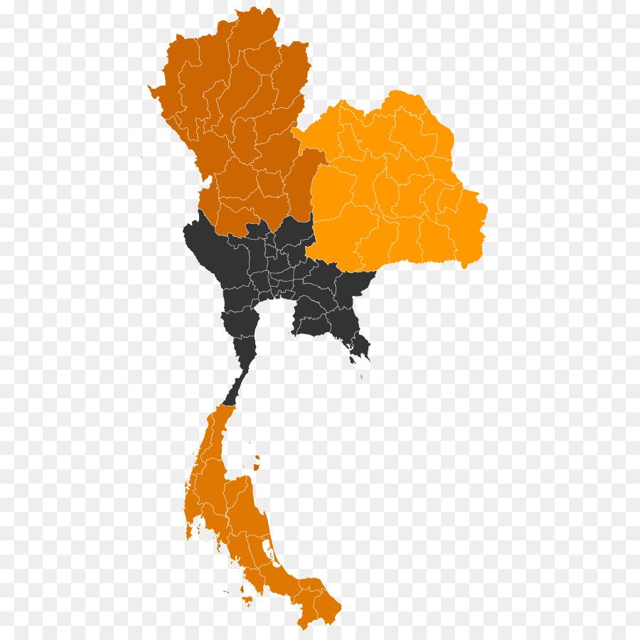 Thailand Map Illustration Transparent Png Image Clipart Free