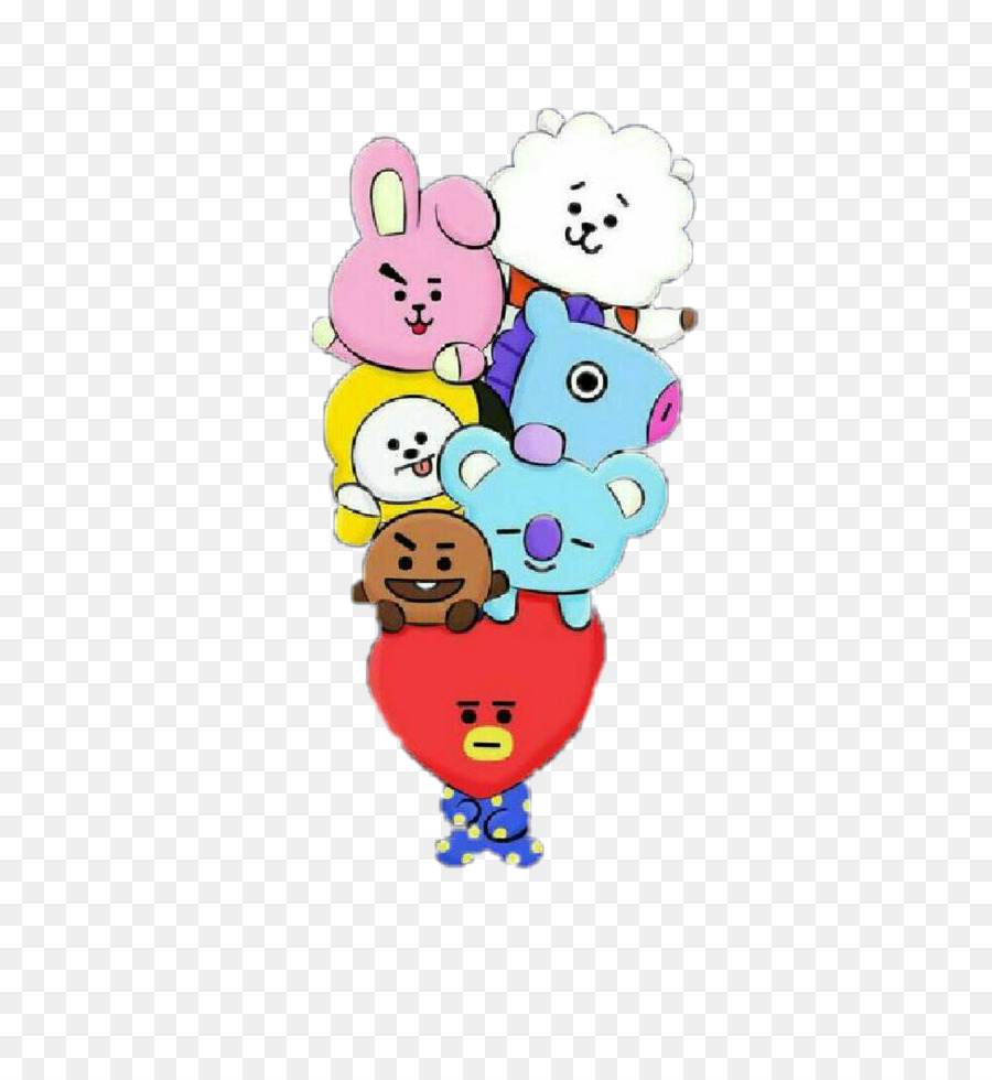 dibujo de bt21 para colorear clipart BTS Drawing K-pop