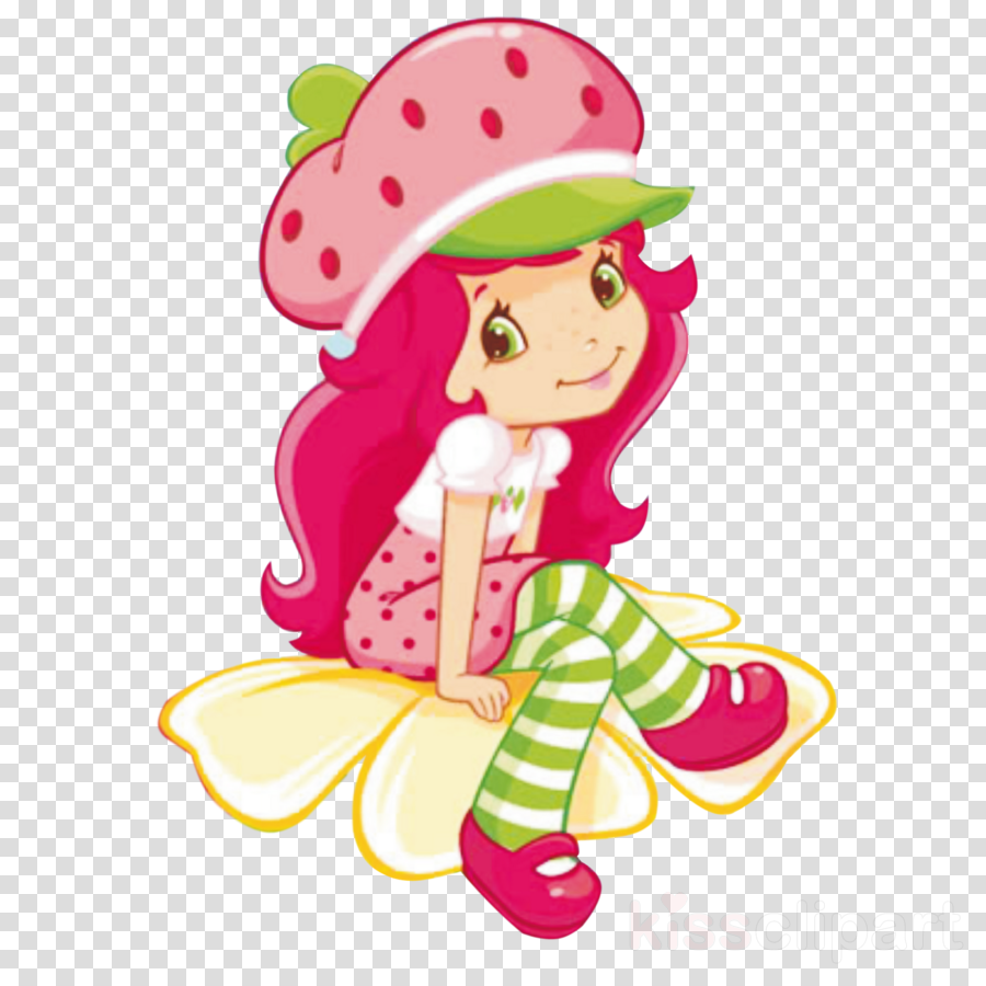 Strawberry Shortcake Cartoon Clipart Book Strawberry Cartoon