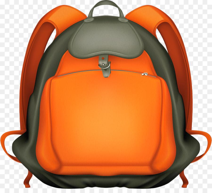 Back To School Orange Background
