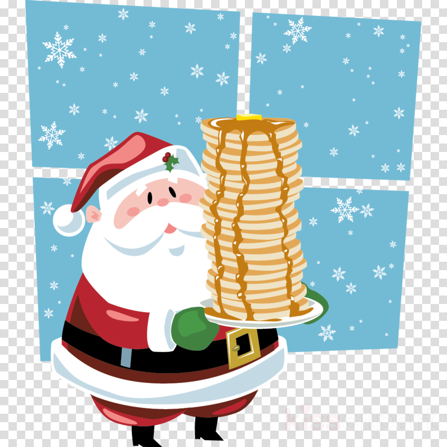 breakfast christmas illustration png clipart free download
