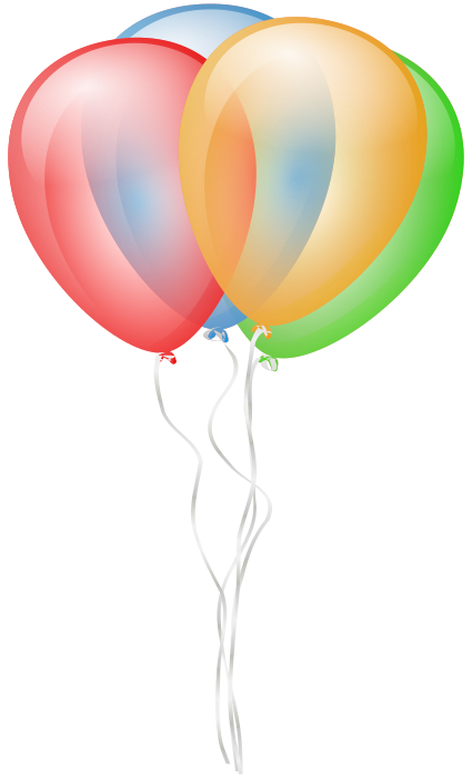 Christmas Clip Art Clipart Balloon Party Illustration