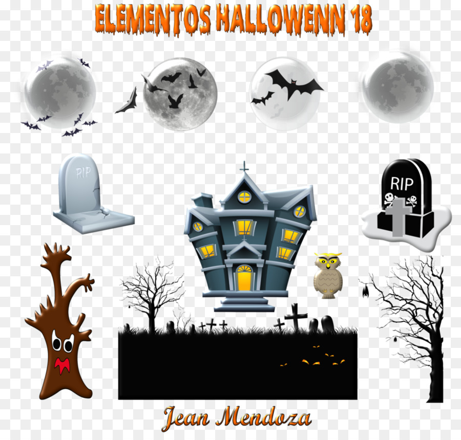 Halloween Pattern Background