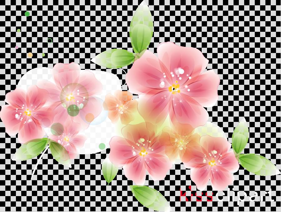 Flower Cartoon Mothers Day