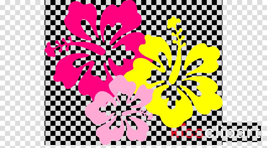 clip art hawaiian flower clipart Hawaii Borders and Frames Clip art
