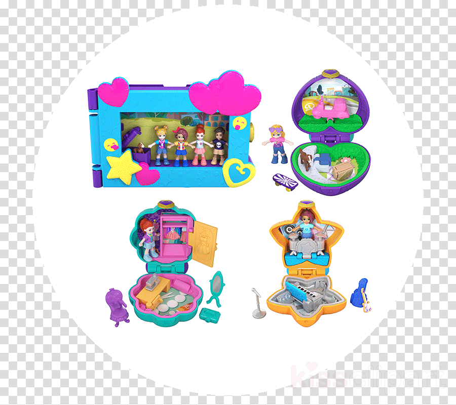 polly pocket clipart Polly Pocket Micro Value Pack Playset
