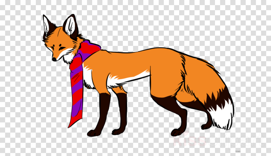 red fox clipart Red fox Character Clip art