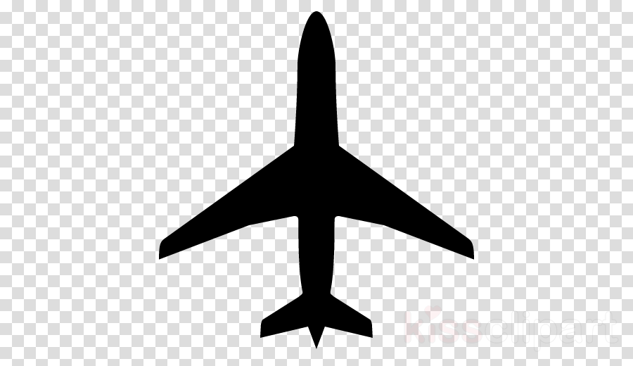 Airplane Symbol Clipart Airplane Illustration Wing
