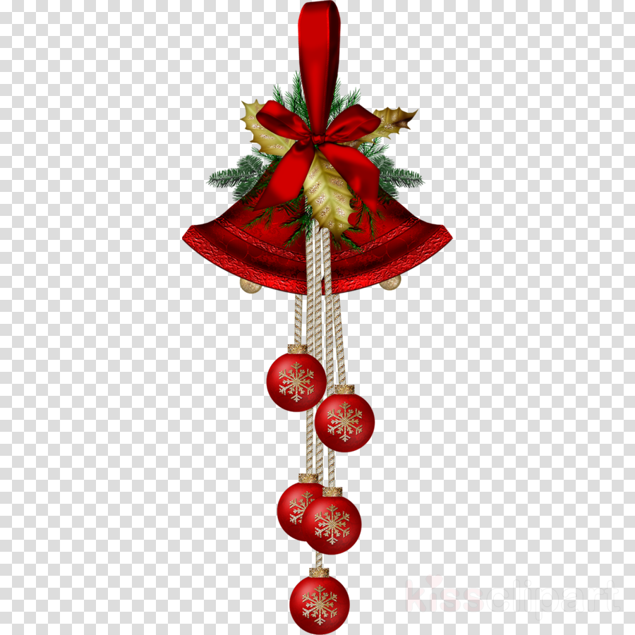 Christmas Bell Cartoon Clipart Illustration Christmas