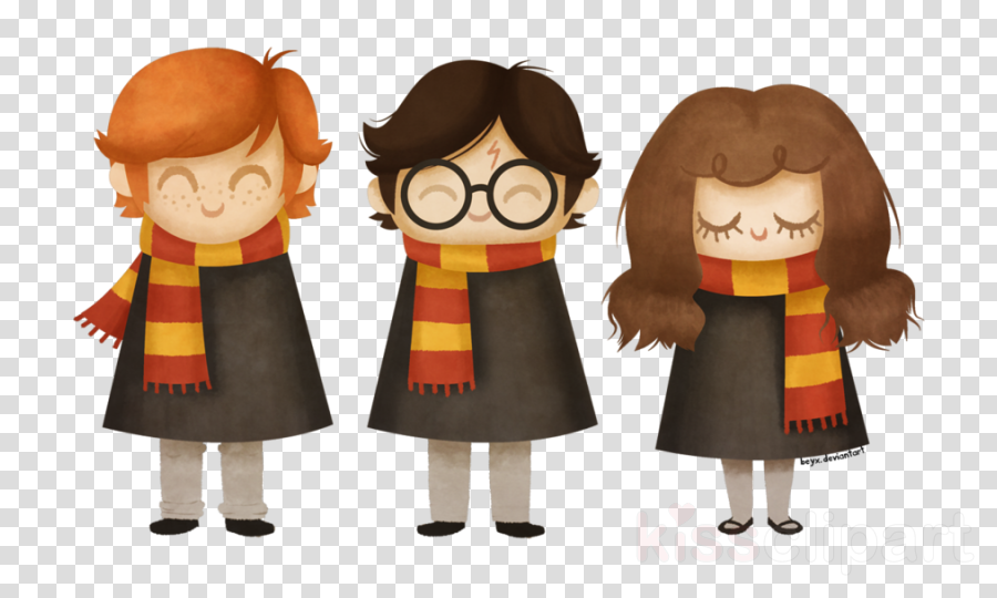 harry potter ron y hermione png clipart Hermione Granger Ron Weasley Harry Potter and the Philosopher's Stone