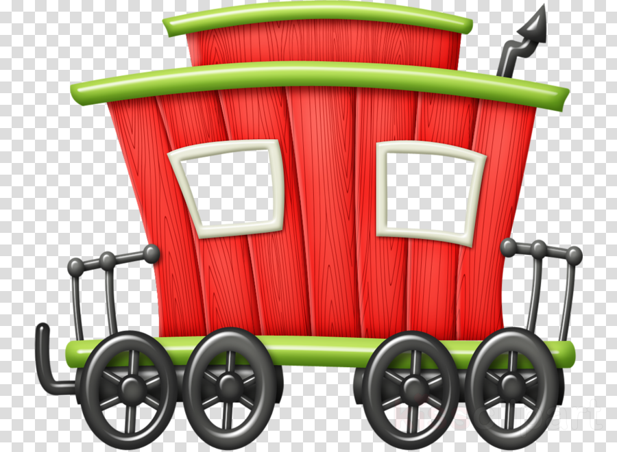 Shopping Cart Clipart Train Drawing Painting