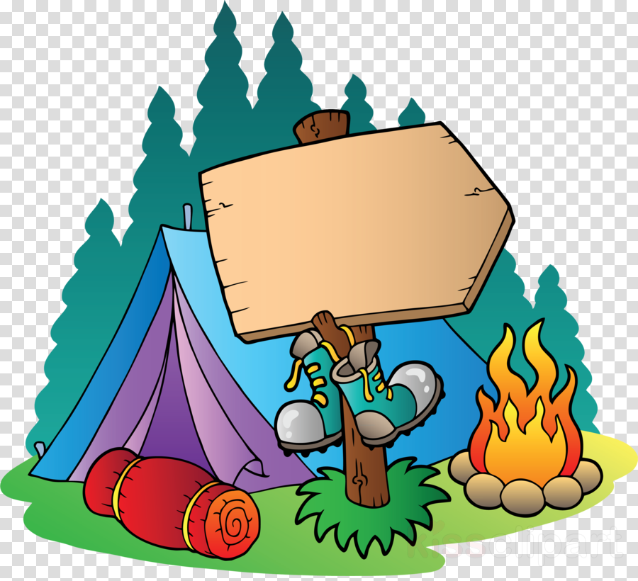Camping transparent. Summer camp clipart child